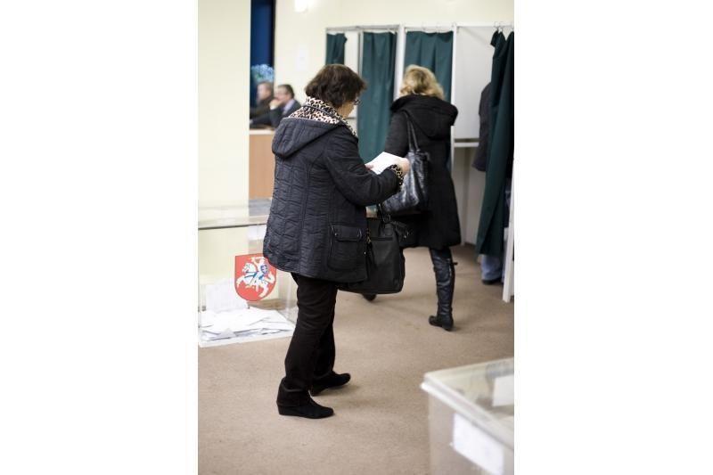 Antrasis turas: Kaune balsuoja mažiau rinkėjų