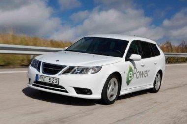 """""""Saab"""" - nebesvetimas tarp elektromobilių"""