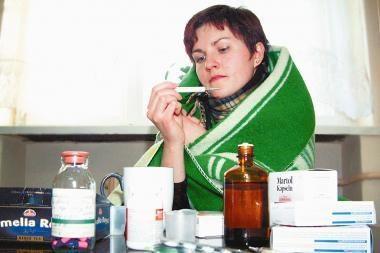 Artėjama prie gripo epidemijos