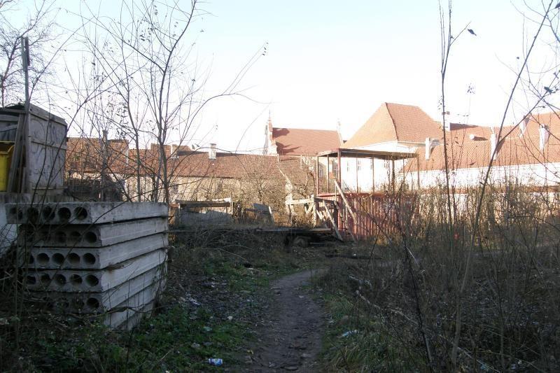 Bjauri dykynė Vilniaus senamiestyje - galvos skausmas gimnazijai