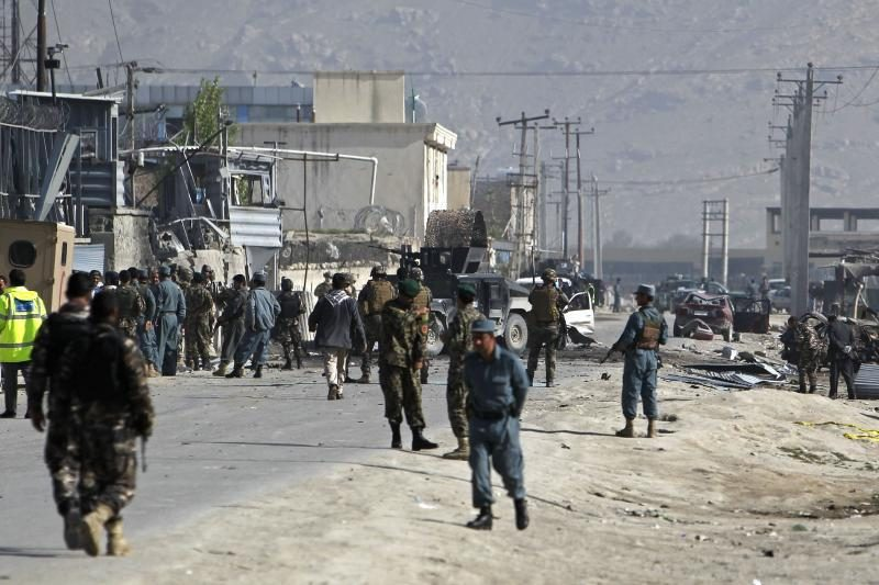Kabule po B.Obamos vizito per sprogimus žuvo šeši žmonės