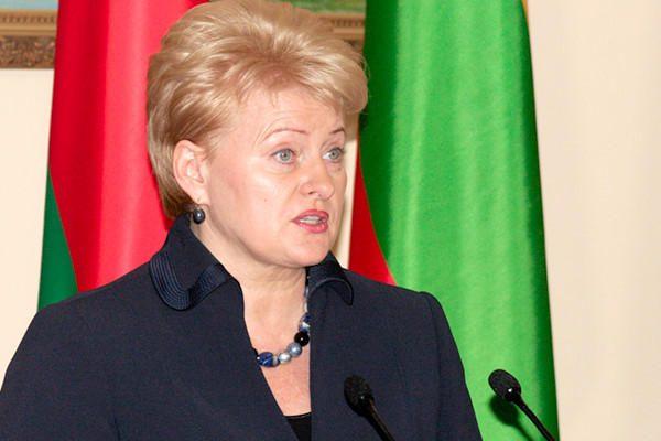Baltarusija neišgirdo D.Grybauskaitės raginimo surengti demokratiškus rinkimus