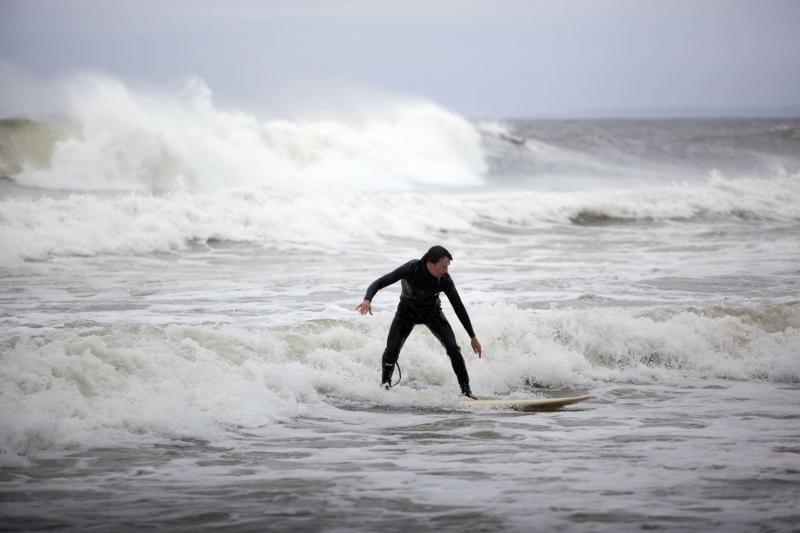 """Niujorkas ruošiasi uraganui """"Sandy"""": žmonėms liepta evakuotis"""