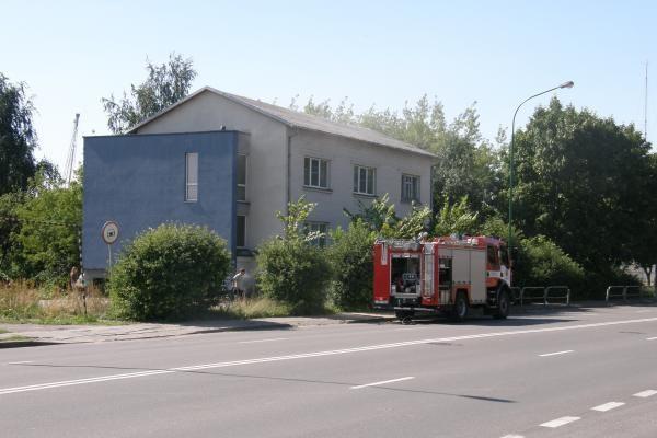 Benamiai bendrovės biure sukėlė gaisrą
