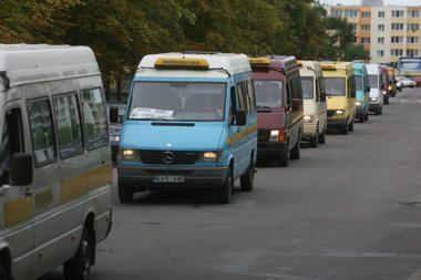 """""""Mikriukai"""" Panevėžyje blokavo gatves"""