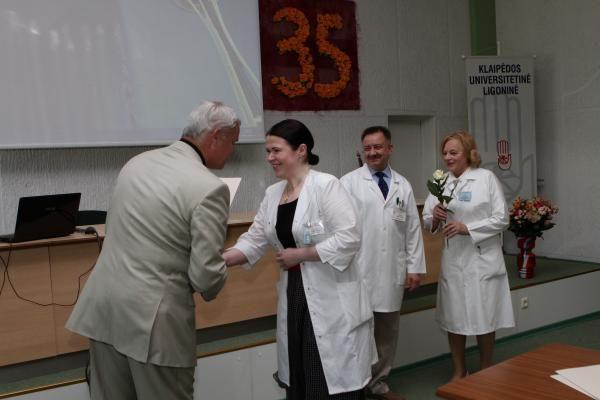 Klaipėdos medikai priverstinių