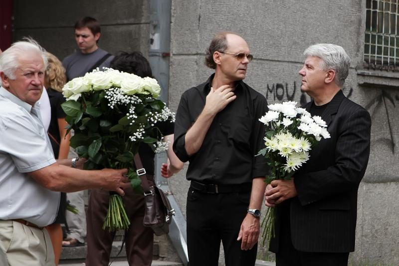 Aktorius V.Klimas atgulė Lėbartų kapinėse