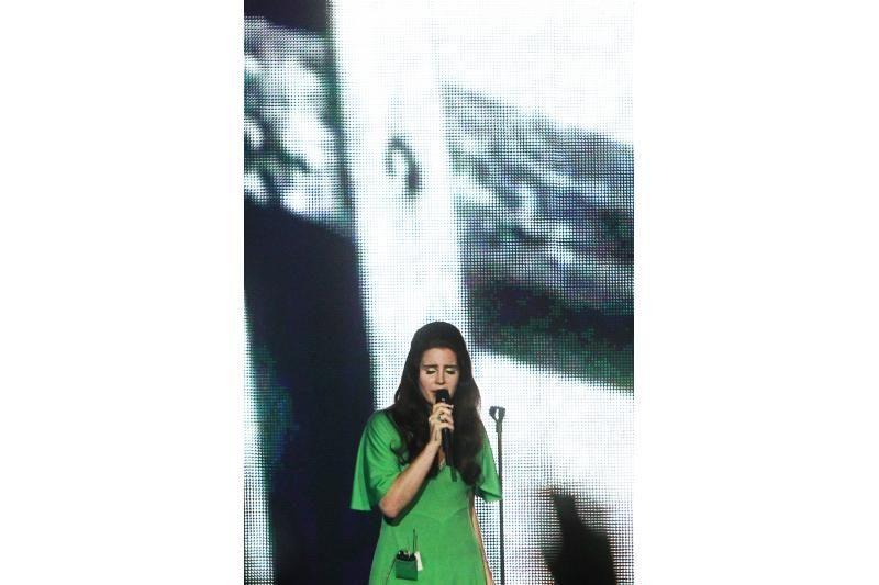 Emocinga: Lana Del Rey Lietuvos publiką išvarė iš proto