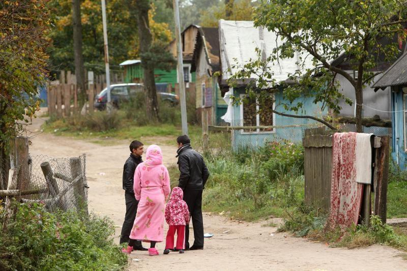 Sulaikytų romų vaikai apgyvendinti globos namuose