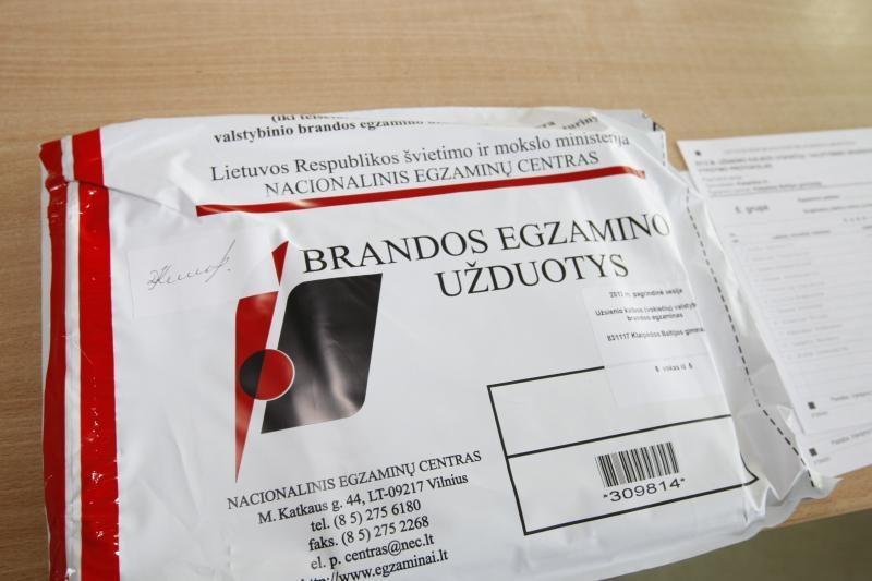 Lietuvių kalbos egzaminas praėjo sklandžiai