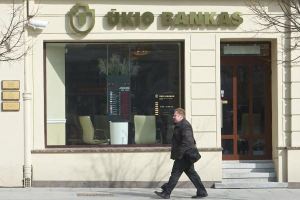 Ūkio banko klientų aptarnavimo skyrius – naujose patalpose