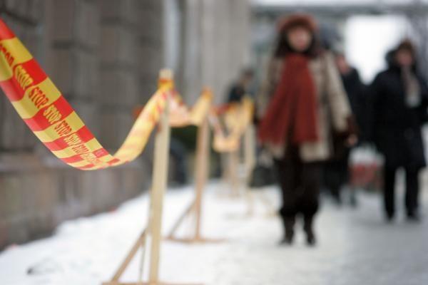 Po Vilniaus senamiestį derėtų vaikščioti su šalmu (papildyta)