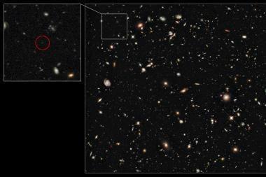 Mokslininkai aptiko tolimiausią galaktiką