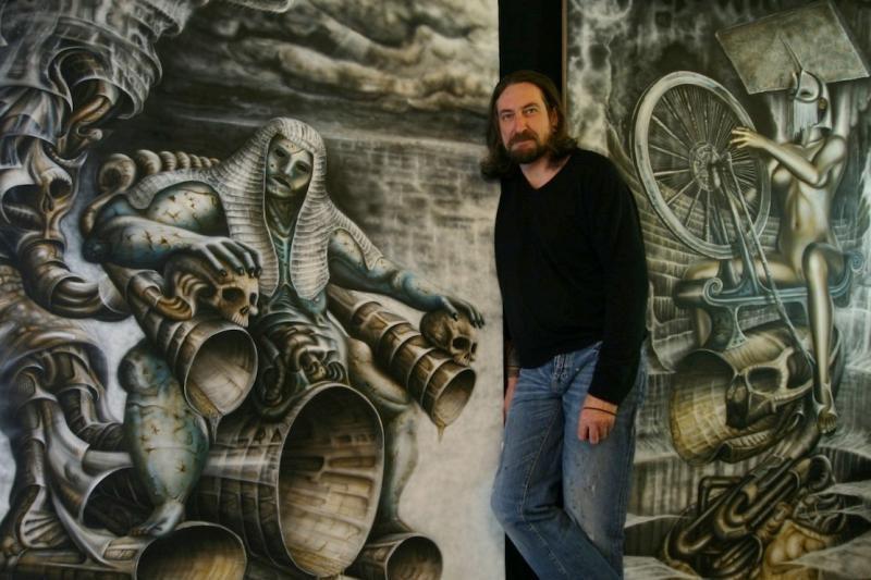 Britų menininkas kviečia užsukti į šiuolaikinį košmarų pasaulį
