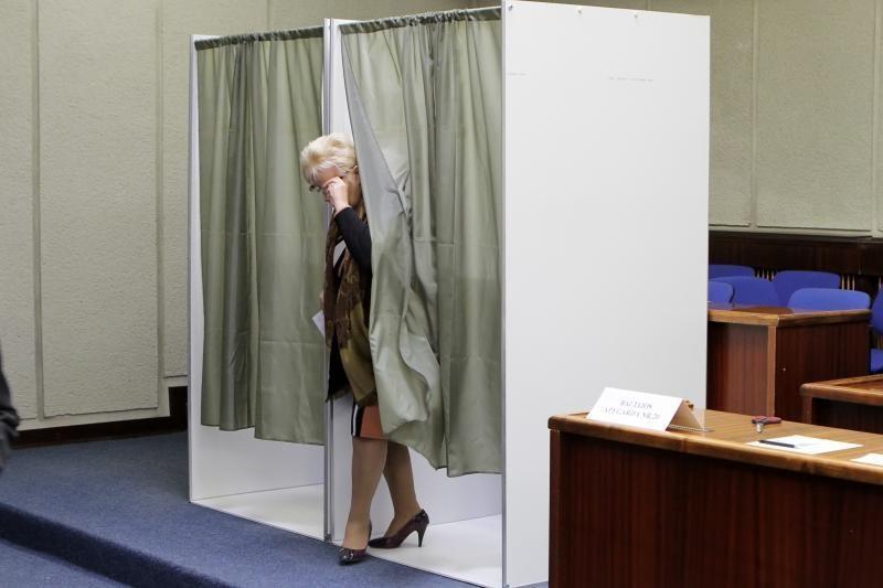 Išankstinis balsavimas Klaipėdoje: eilių nėra
