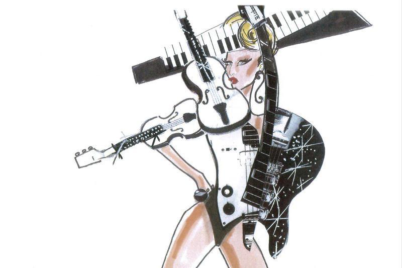 Lady Gaga pademonstravo savo naujųjų gastrolių kostiumus