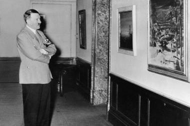 Vokietijos aukcione ketinama parduoti tris Hitlerio akvareles
