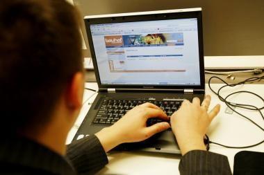 Vaikai mažai apsaugoti nuo žalingo turinio informacijos internete