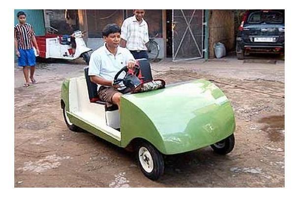 Nebaigęs koledžo indas – ekologiškų transporto priemonių kūrėjas