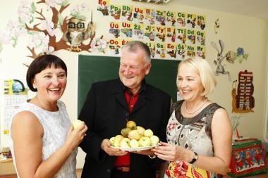 Moksleivių valgiaraštyje – ir dilgėlių sriuba
