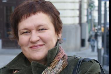 Vilniuje vilkikas taranavo moters vairuojamą automobilį
