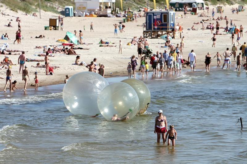 Dėl pinigų uostamiesčio paplūdimių priežiūrai – aistros