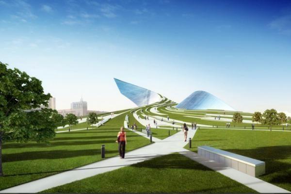 Ermitažo-Guggenheimo muziejaus projektas – žinomų architektų knygose