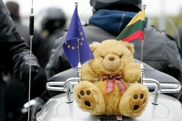 Lietuvos baikeriai sezoną uždarė Vilniuje