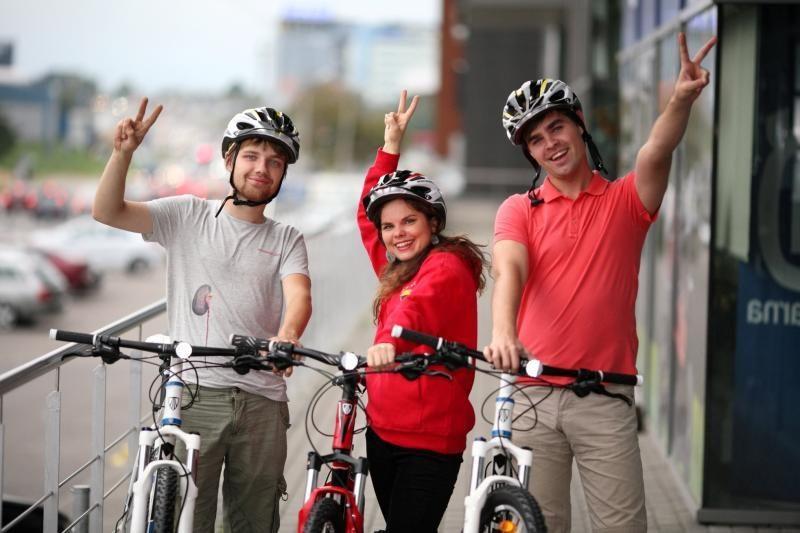 Klaipėdoje – organų donorystę skatinantis dviračių žygis