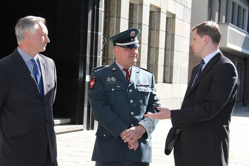 Į Kauno gatves išriedėjo keturi policijos riedžiai