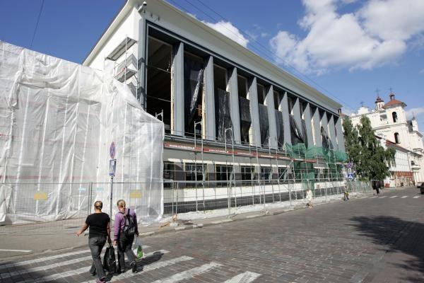 Rugsėjis ant nosies, o sostinės mokyklų renovacija tik įsibėgėja