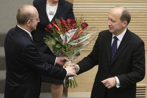 A.Kubilius išrinktas Premjeru