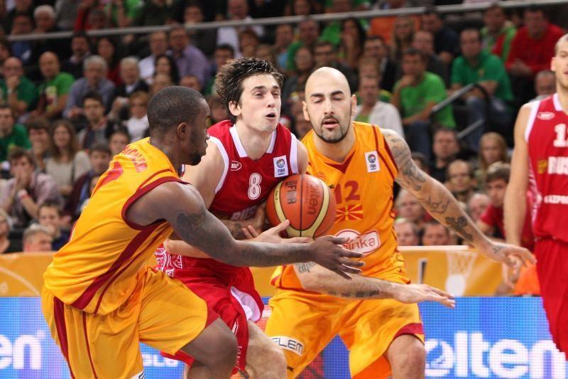 Vargais negalais iškovota bronza: Makedonija - Rusija 68:72