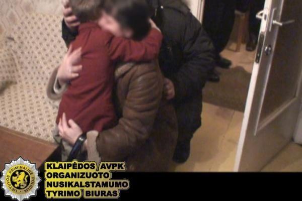 Klaipėdoje už pagrobtą vaiką reikalauta išpirkos (papildyta)