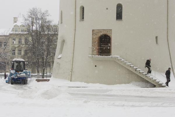 Sniego stichija Vilniuje: savaitgalį laukia košmaras (papildyta)