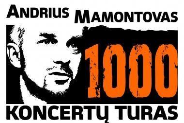 Šią vasarą - A.Mamontovo tūkstantasis koncertas