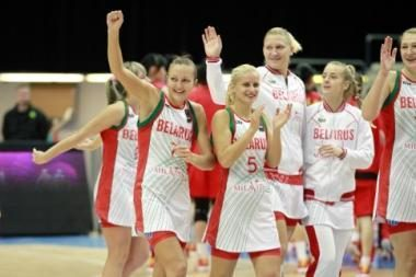 Lietuviškos suknelės atnešė sėkmę Baltarusijos krepšininkėms