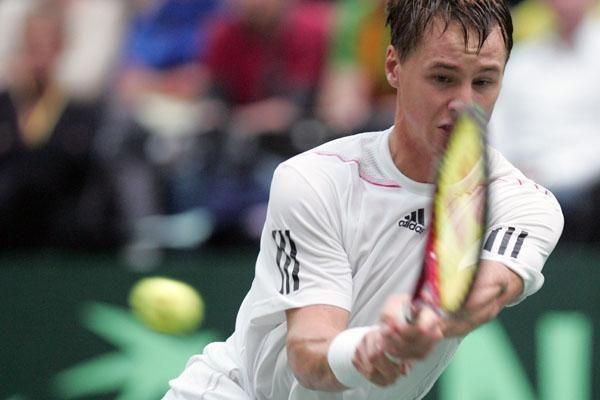 R.Berankis baigė pasirodymą  teniso turnyre Vokietijoje