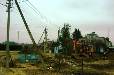 Prekybos centro statybos Romainiuose – be detaliojo plano