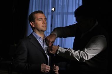 Ar D.Medvedevo žodžiai vėl bus pranašiški?