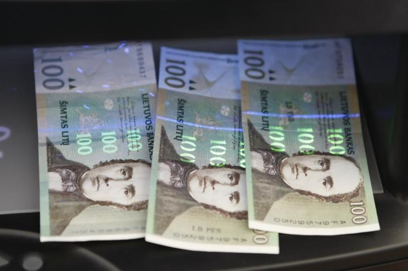 Pinigų padirbinėtojams Klaipėdoje suduotas smūgis