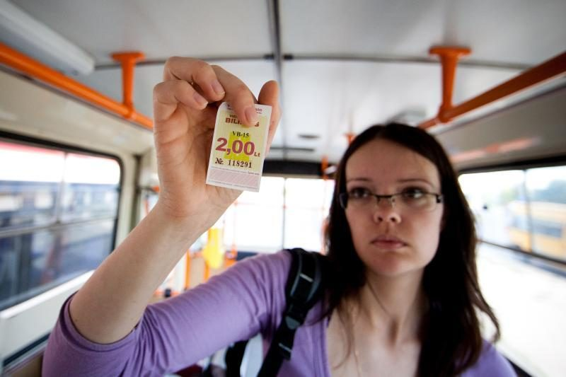 """""""Lietuvos spauda"""": bilietų kiekį sumažino """"Susisiekimo paslaugos"""