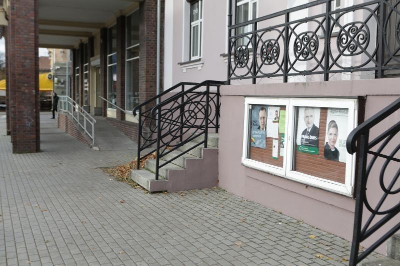 Politikai Klaipėdoje reklamuojasi ir tylos dieną