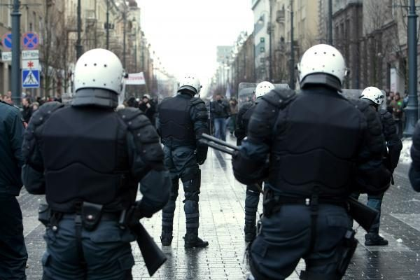 Kultūros sostinę nusiaubė riaušės (video)