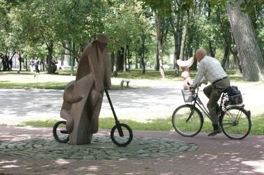 """""""Judrioji savaitė"""": linksmos akcijos ir """"Klaipėdos dviračių žygis"""" (maršrutas)"""