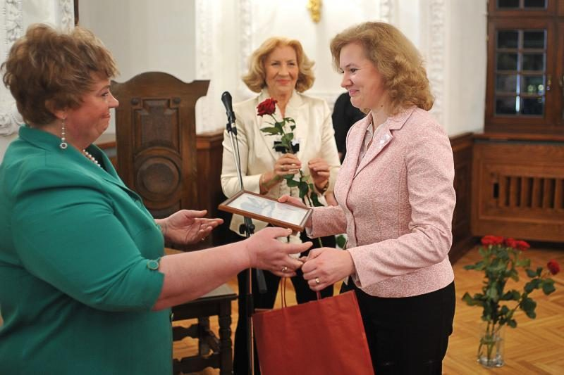Apdovanotos Kauno miestui nusipelniusios moterys