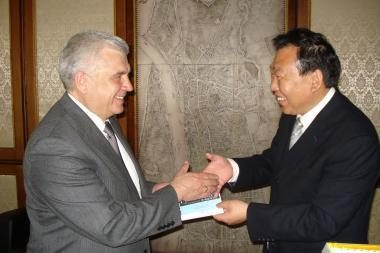 Klaipėdoje vieši kinų delegacija