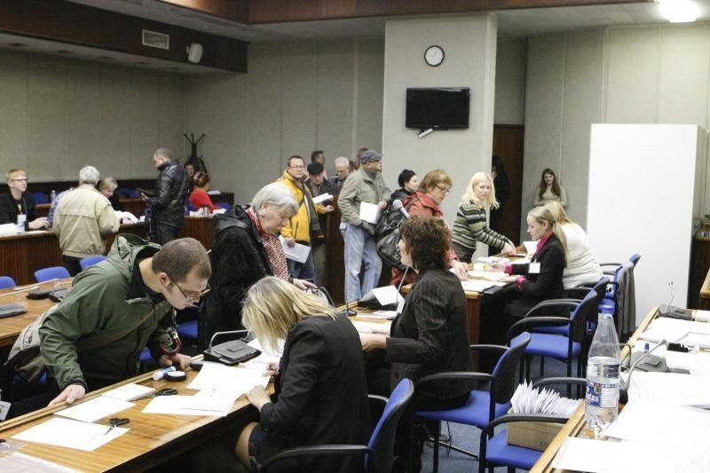 Išankstiniame balsavime Klaipėdoje – rinkėjų anšlagas