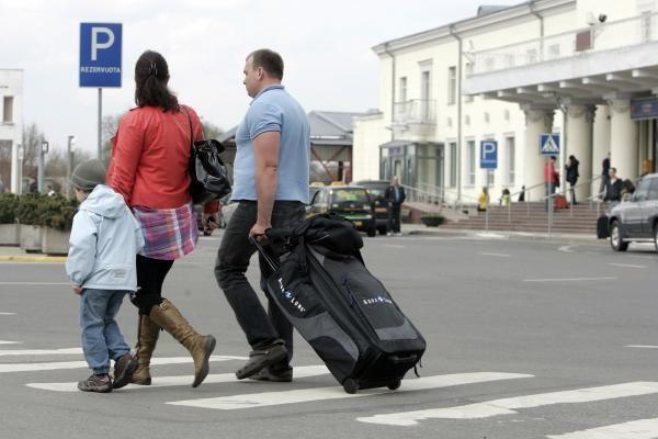 Šalies turistai rinkosi keliones užsienyje, o ne Lietuvoje