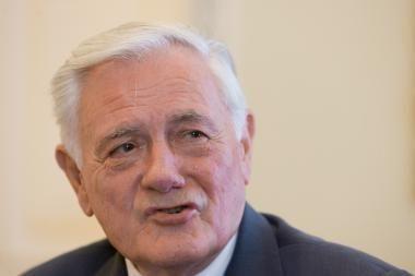 V.Adamkus: Lietuvoje trūksta pagarbos kitokiai nuomonei